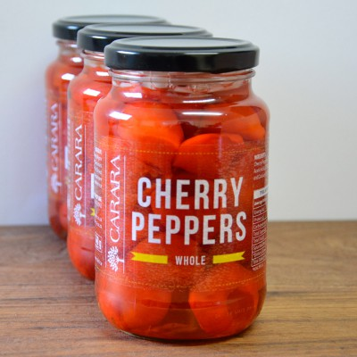 Carara Bottled Red Cherry Peppers